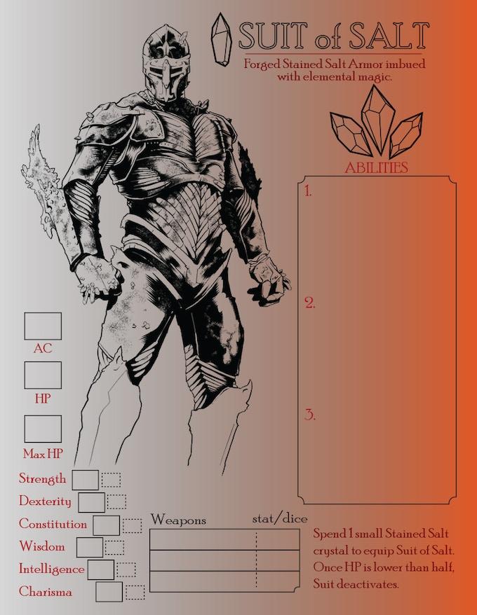 craft powerful armor
