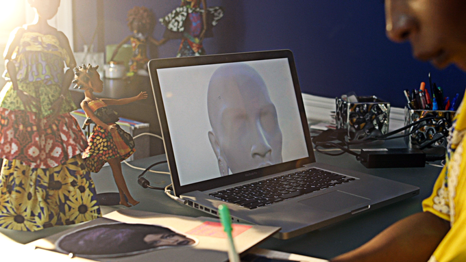 From 3D models, to REAL prototypes of our avatars.
