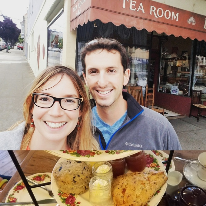 Tea Rooms in San Franscico and Galway, Ireland