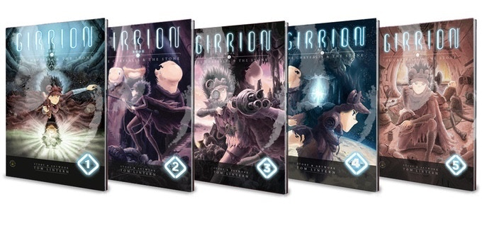 Softcover samples (Issues 1-9)