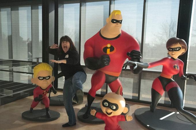 photo taken on a visit to Pixar