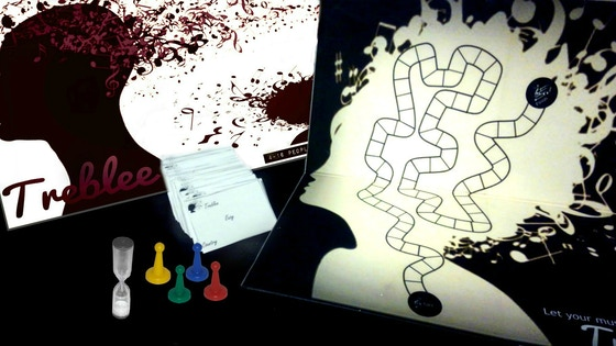 Treblee The Music Board Game for Every Genre