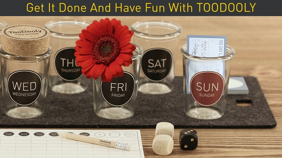 TooDooly: A game and a weekly organizer made fun!