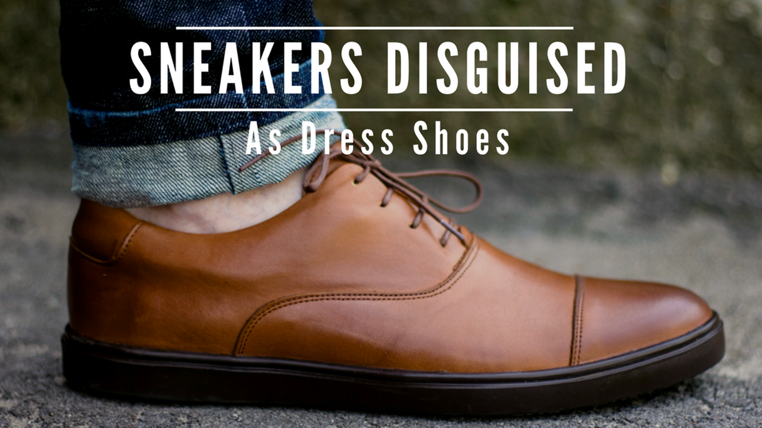 Yes, you really can wear a pair of sneakers to your next board meeting. Don't miss out on our new collection! Just click the button below.