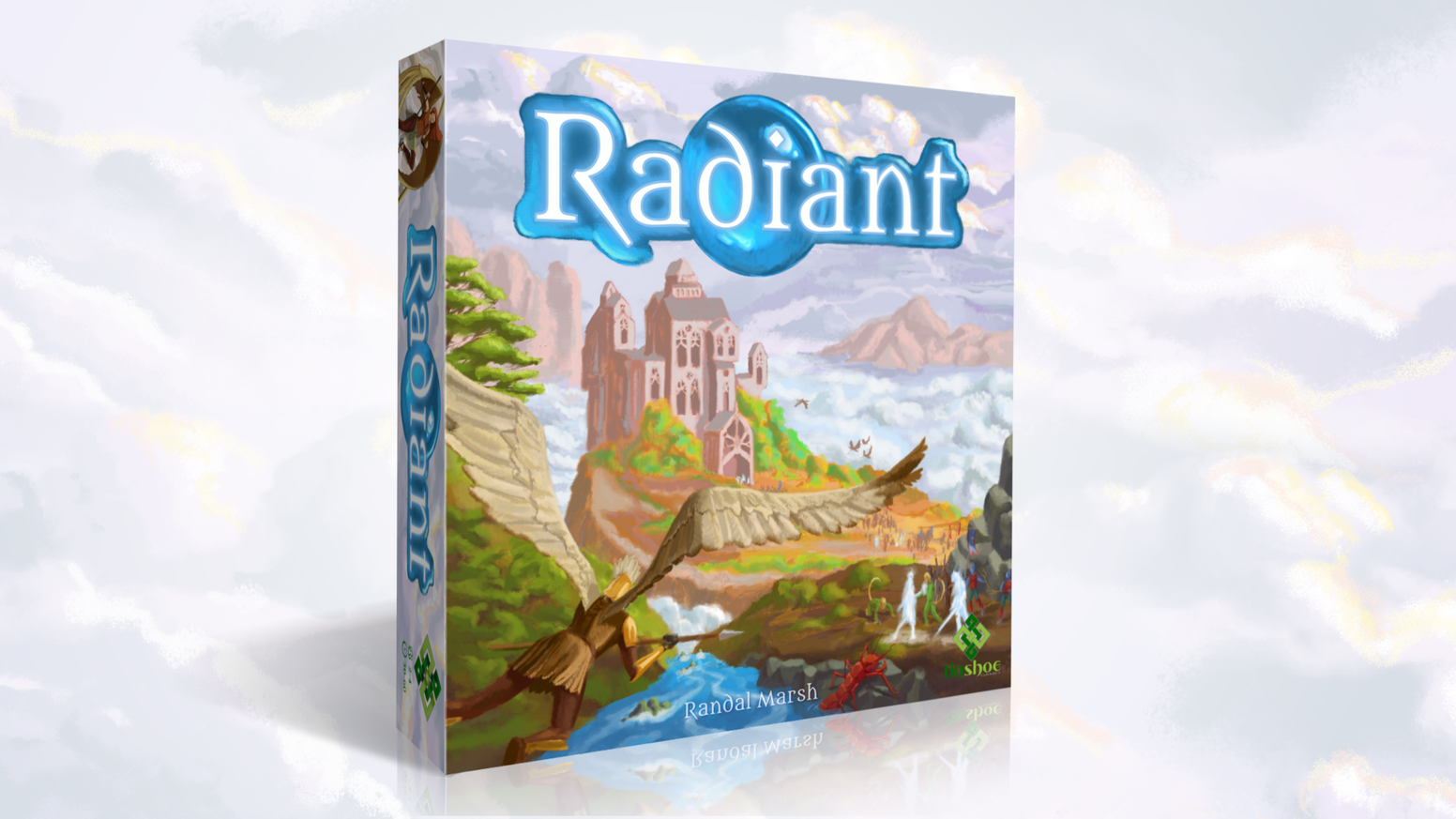 The Radiant Cycle has turned again—the War of Three Ages is upon us. Control the beautiful land of Perim with trick-taking battles.