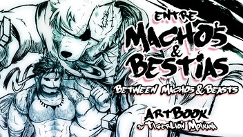 'Entre Machos y Bestias' - ARTBOOK BARA/FURRY NSFW