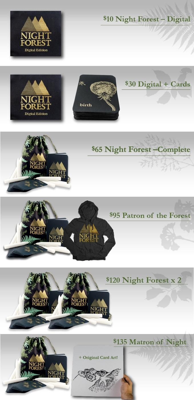 Night Forest by Ross Cowman — Kickstarter