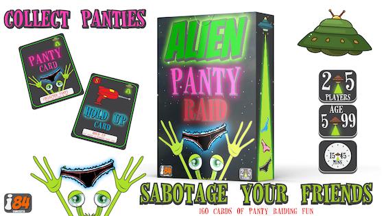 ALIEN PANTY RAID