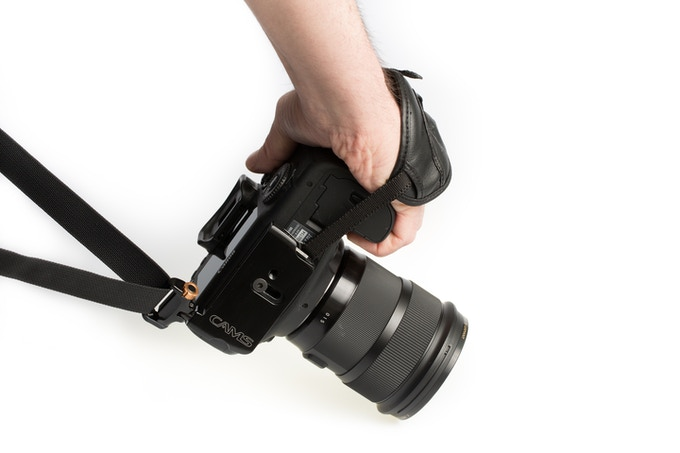 Hand strap attachment loop (hand strap NOT included)