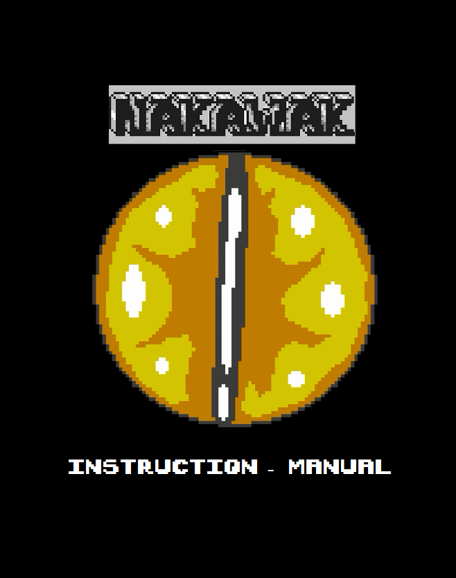 Full Color Instructions with an included short story, detailing the origins of Nakawak.
