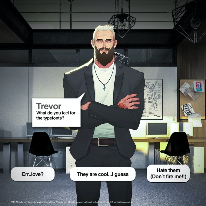 Try to learn anything you can of Trevor.