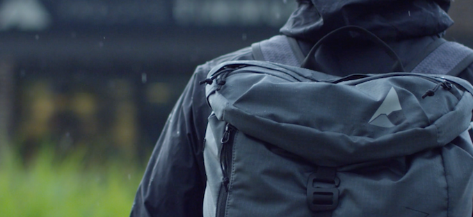 With a DWR finish the Wanaka Adventure Pack is extremely water resistant