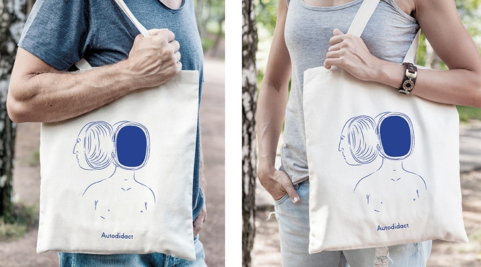 Autodidact Limited Edition Heavyweight Canvas Bag
