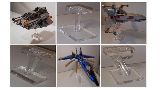 Lego flight stands