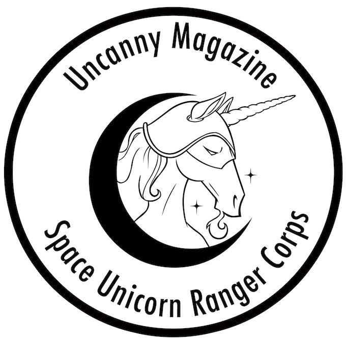 Space Unicorn Patch
