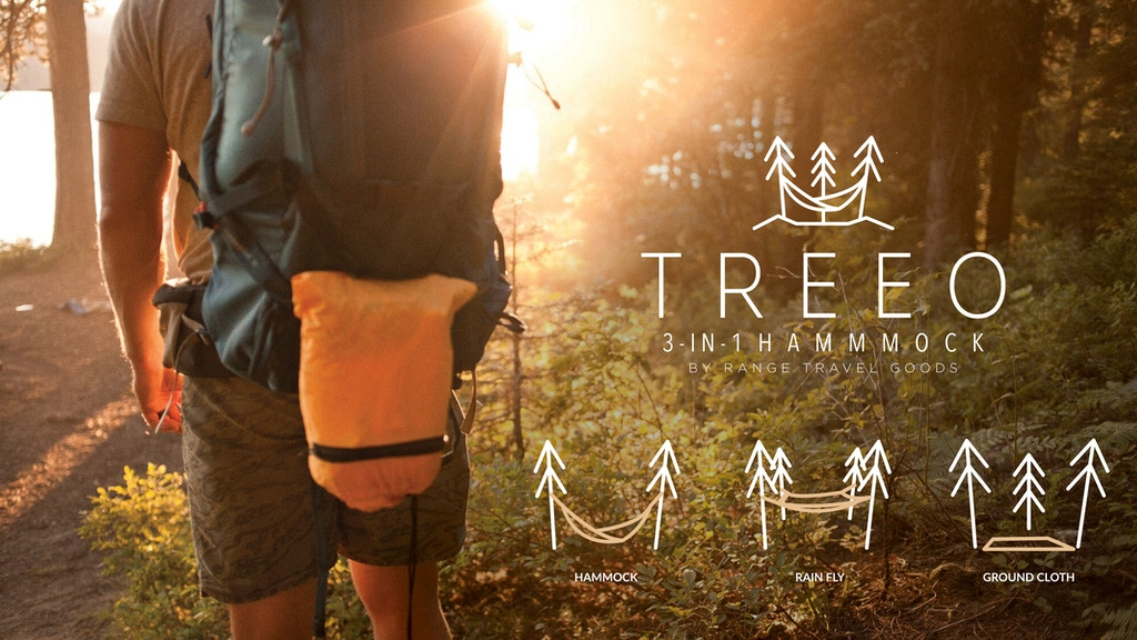 THE TREEO: A 3-in-1 Utility Hammock That Does It All project video thumbnail