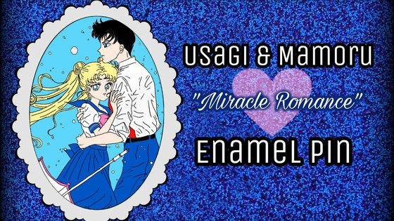 Usagi & Mamoru Sailor Moon enamel pin