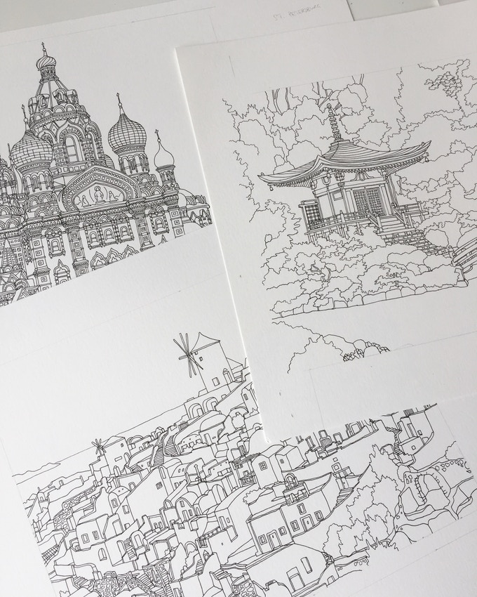 A selection of illustrations