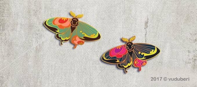 Moth Alternate Color Variation