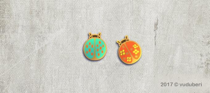Ladybugs Pair