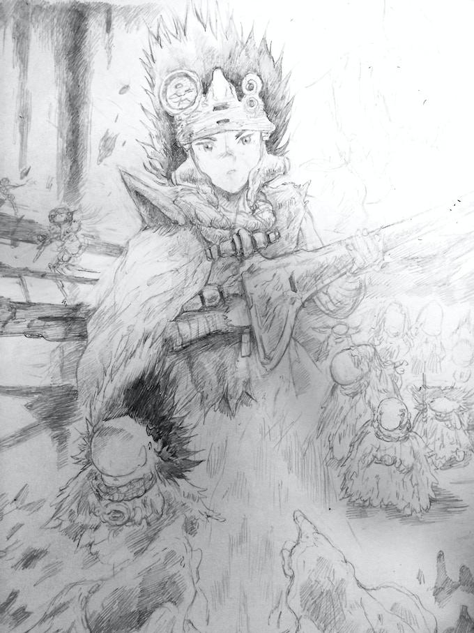 Volume 1 cover art in progress
