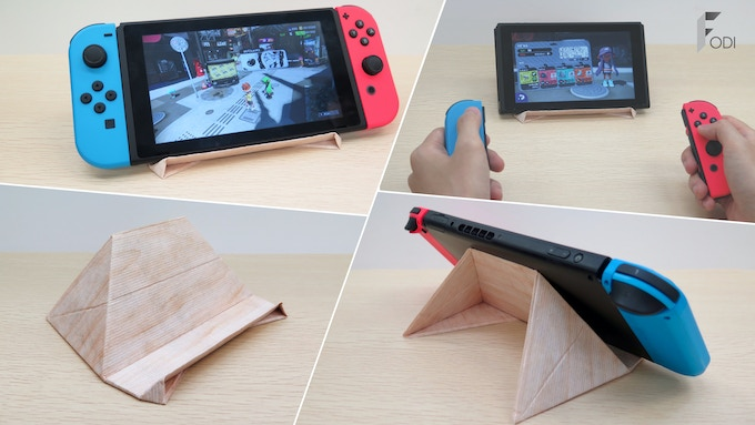 FODI can hold Switch perfectly.