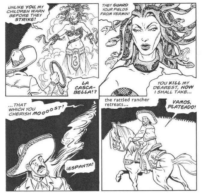 Cascabela, the rattlesnake spirit queen