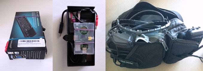 Other versions of the Raspberry Pi + TacEye LT GNU/Linux wearable