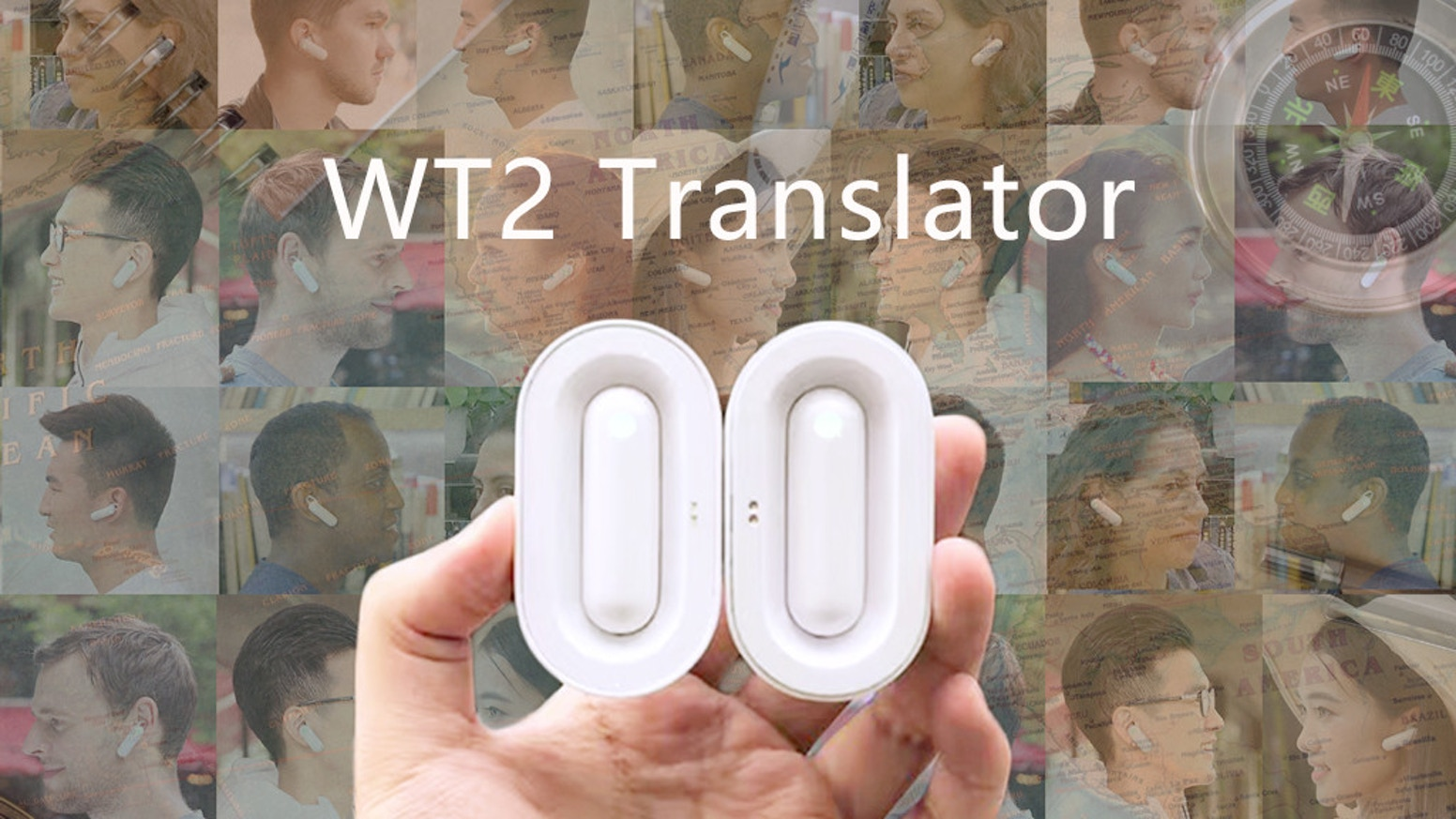 WT Realtime Earphone Translator By Timekettle Kickstarter - Revolutionary ear device translates foreign languages real time
