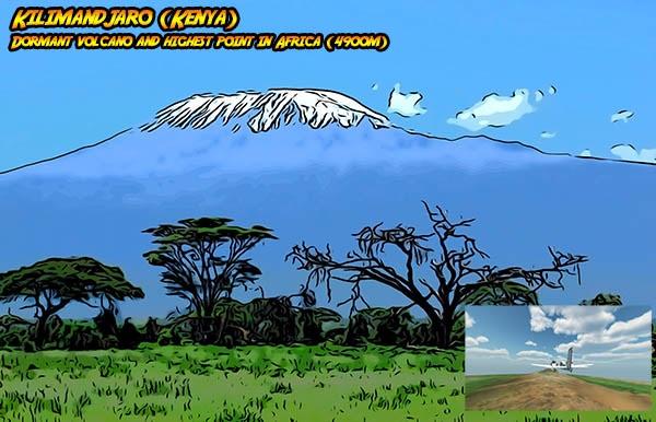 Mt Kilimandjaro (Kenya)
