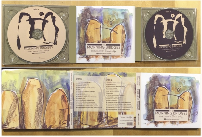 Open double Digipack CD (inside and outside)