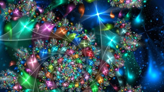Fractals everywhere: Science with Art for Young Talents