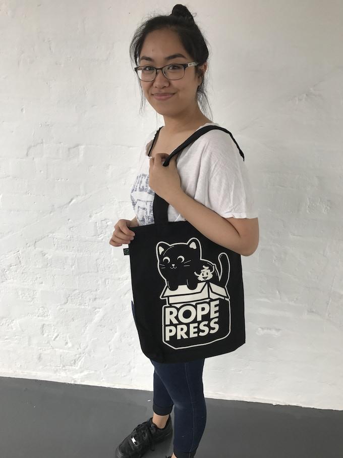 Rope Press Tote Bag