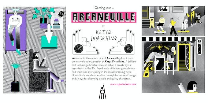 """Coming soon! """"Arcaneville"""" by Katya Dorokhina"""