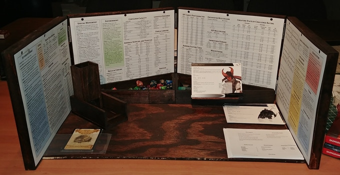 Legendary Dm Screen Of The Owlbear By Chris S Kickstarter