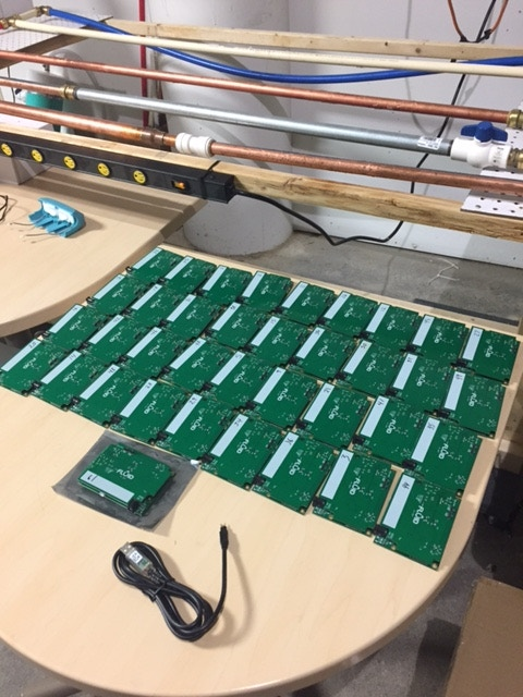 A number of boards ready to go!