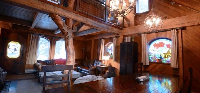 Interior of the Amazing Cabin