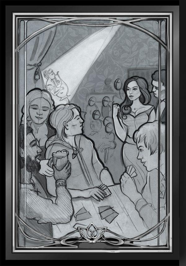 (Rough Concept Sketch)