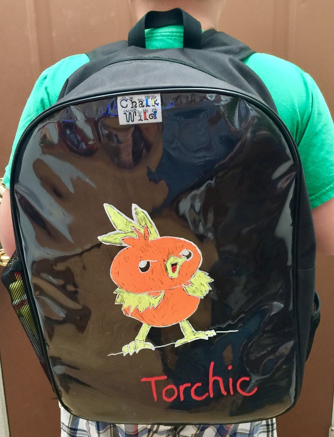 Pokemon GO? Catch your own Pokemon on your backpack
