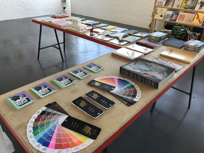 Artists Super Market, by Rope Press is an international group show exhibited at Grand Union Gallery, Birmingham 2017