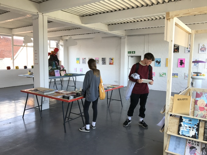 Artists Super Market, by Rope Press is an international group show exhibited at Grand Union Gallery Birmingham