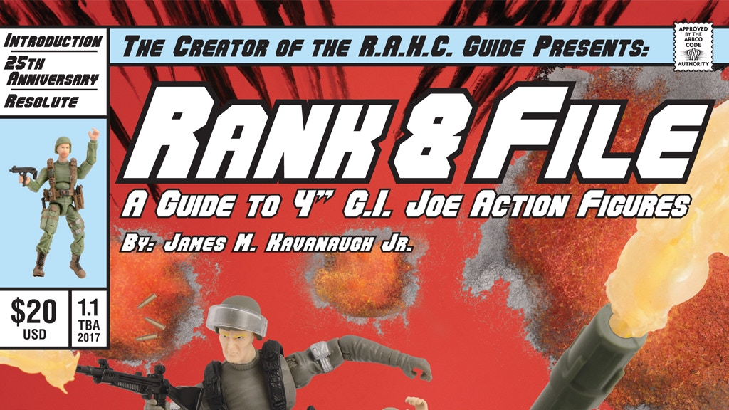 R.A.H.C. Guide Presents: Rank & File Volume 1 Reprint! project video thumbnail