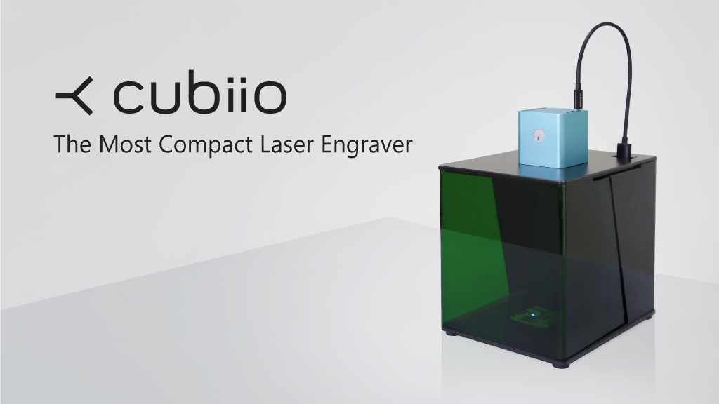 Cubiio: The Most Compact Laser Engraver by Muherz — Kickstarter