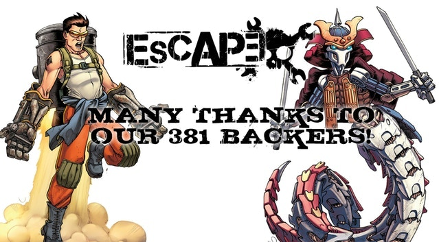 ESCAPE is a dungeon crawling game in the post apocalyptic universe of Eden!