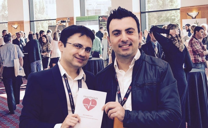 Clemente and Arturo at WT Conferences - Milan