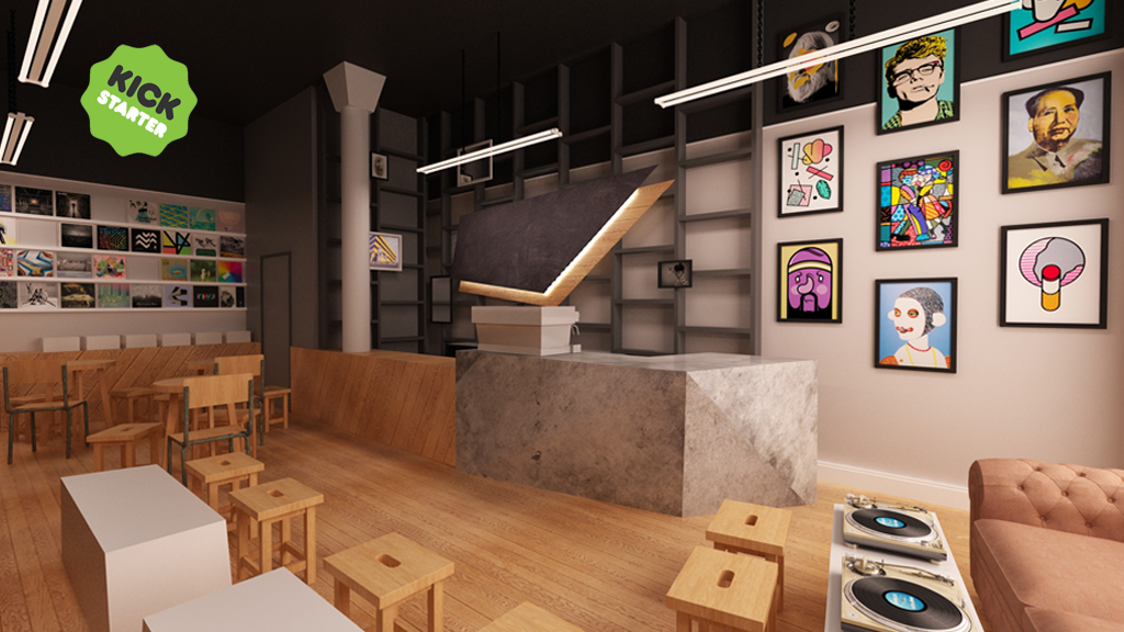Café Artum: Art, Records & Coffee project video thumbnail