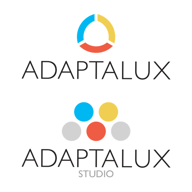 Adaptalux Logo followed by the Adaptalux Studio Logo