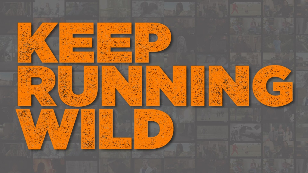 Keep Running Wild project video thumbnail
