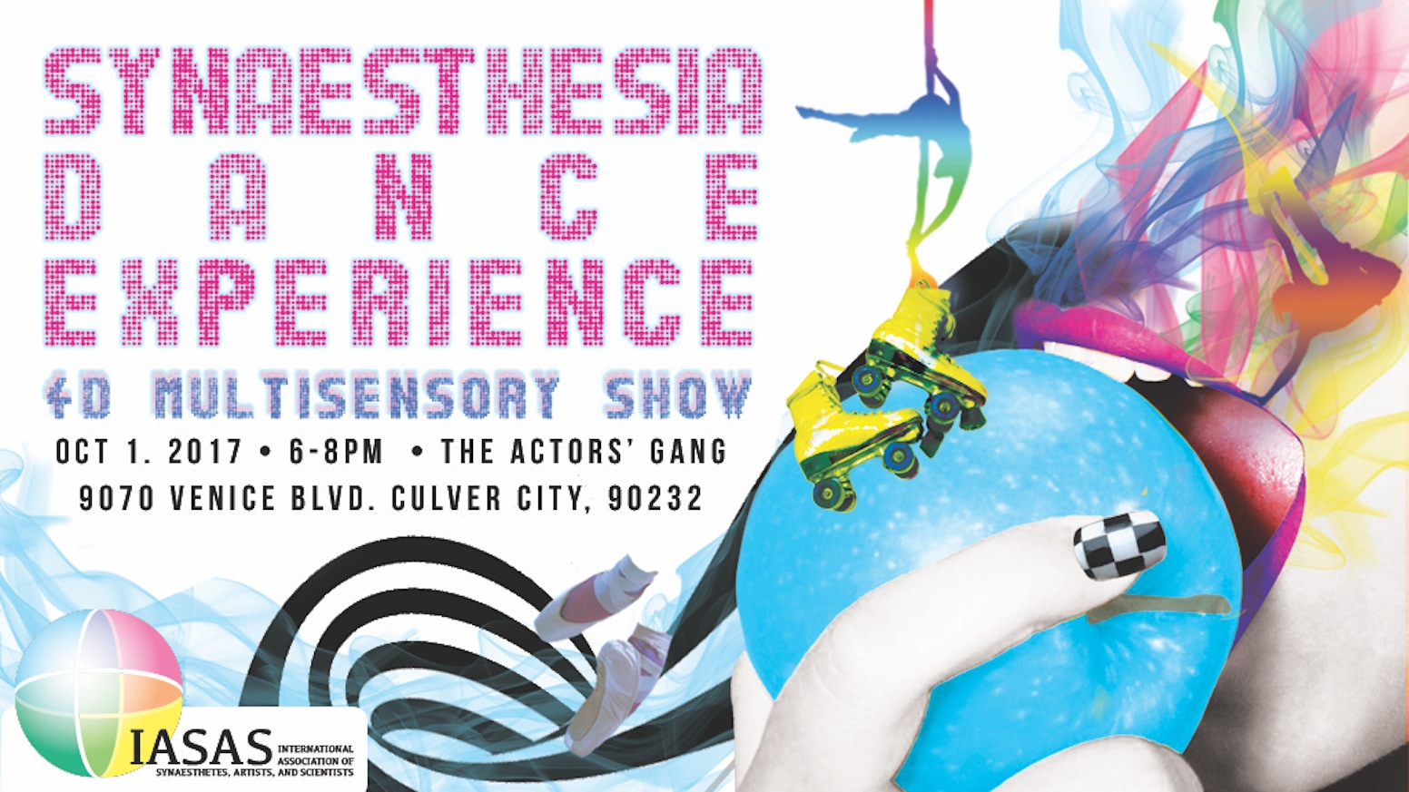 Multimedia artists and dancers collaborate with technology to showcase their individual forms of synaesthesia: the crossing of senses.