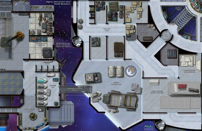 Orbital Deployment Ship: Cargo Quadrant